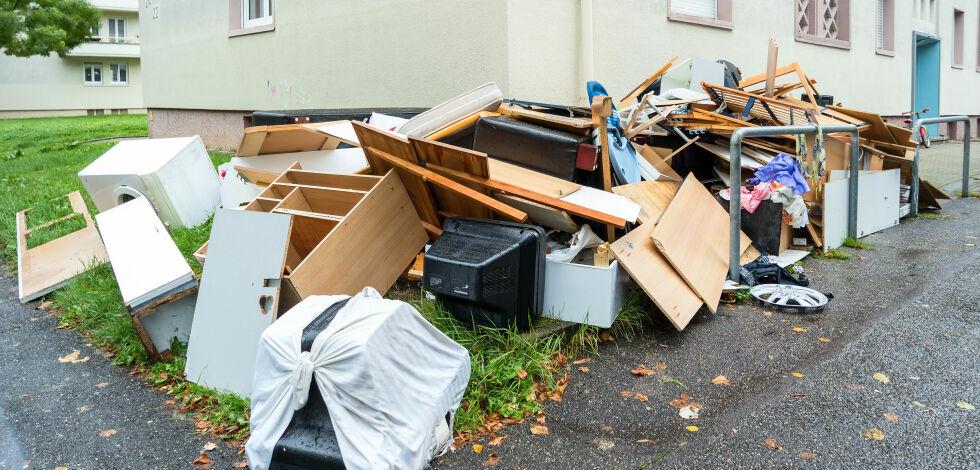 image: Ta bilde av søppelet og få det hentet og kastet