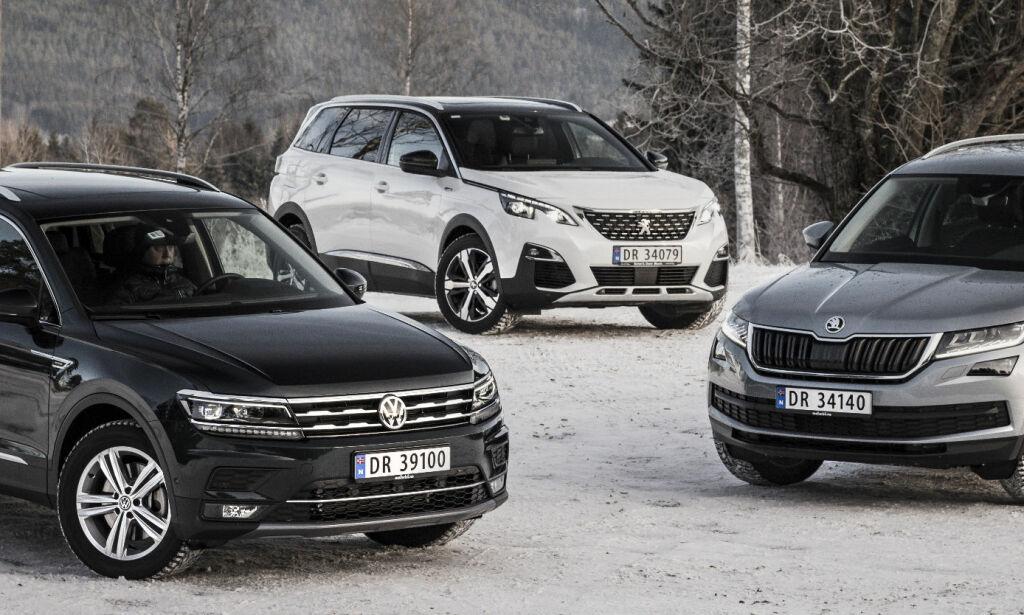 image: Familie-SUV-ene med plass til sju - vinneren overrasker