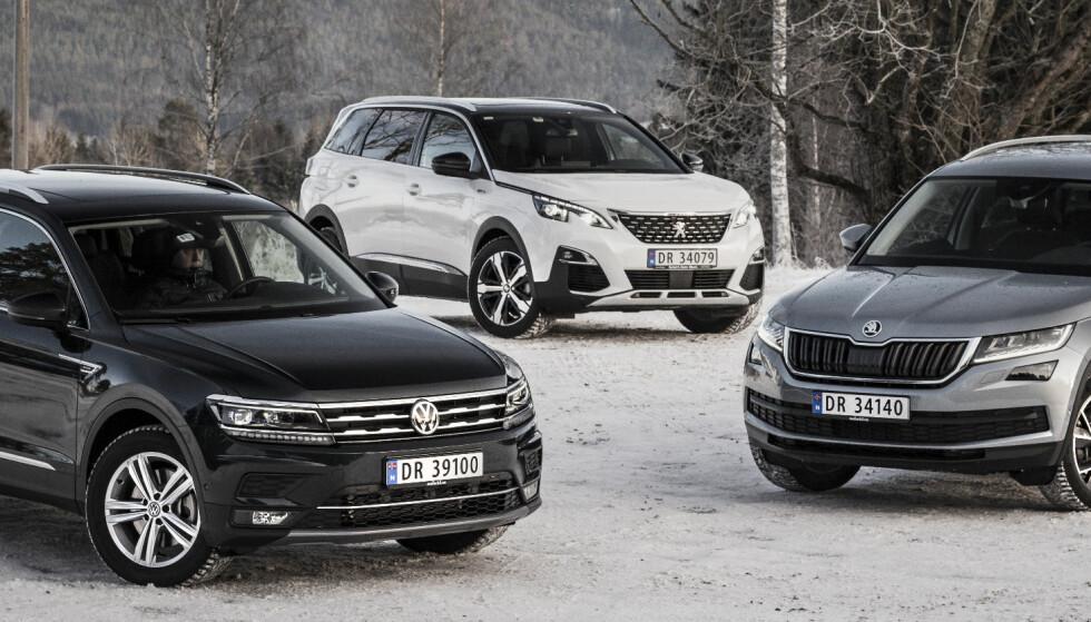 Familie-SUV-ene med plass til sju - vinneren overrasker