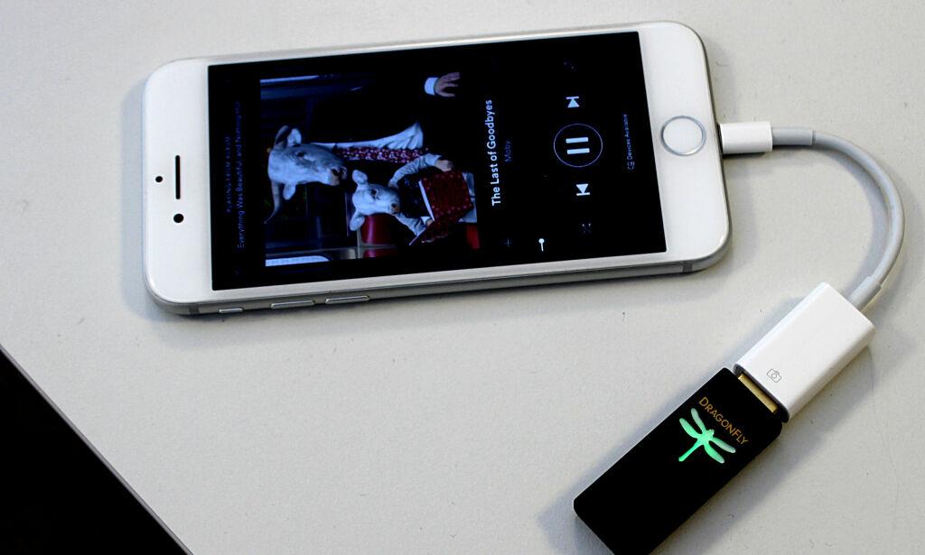 image: «Dingsen» på ledningen gir deg mye bedre mobil-lyd