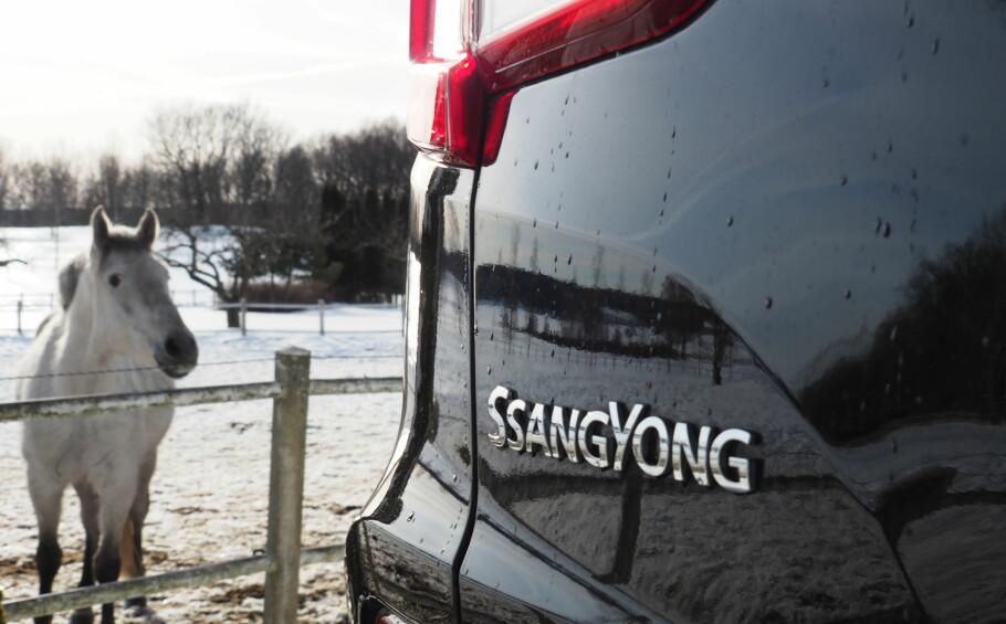 ENDELIG ERSTATTER: Andre generasjon av bestselgeren Ssang Yong Rexton er testet i Norge. Foto: Rune M. Nesheim