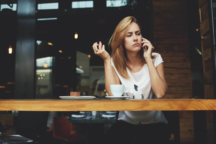 IRRITERENDE: Telefonsalg topper klagestatistikken hvert år. Mange av klagene kommer fra medlemmer som blir oppringt av samarbeidspartnere, selv om de har reservert seg mot telefonsalg. Dette er ulovlig, men ifølge Forbrukertilsynet følger ikke alle reglene. Foto: Shutterstock / NTB Scanpix