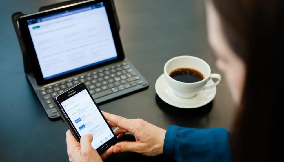 ELEKTRONISK SKATTEMELDING: De fleste får og leverer skattemeldingen elektronisk, men du kan også få og sende den på papir i posten. Foto: Skatteetaten.