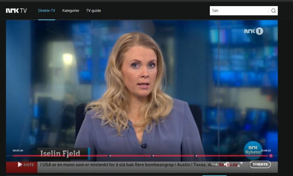 BESTEMMER SELV: NRK tilbyr bare en del av TV-innholdet sitt til utenlandsseere. Men de vil gjerne endre på dette, om de klarer å få på plass innlogging at og rettighetshaverne er med på det. Foto: NRK