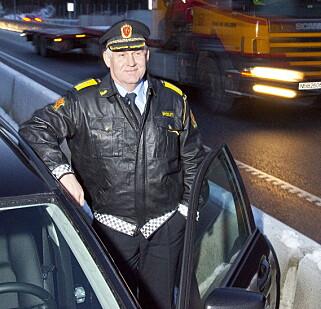 TRAPPER OPP: UP-sjef Runar Karlsen forteller at politiet nå har et ekstra fokus på vinduer og dekk. Foto: Per Flåthe