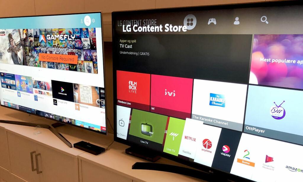 DATAMASKINER: Nyere TV-er med smartfunksjonalitet, må betraktes som datamaskiner og håndteres deretter når du kvitter deg med dem. Foto: Bjørn Eirik Loftås