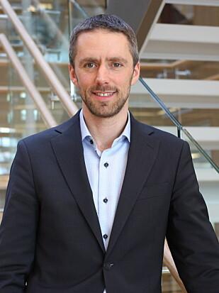 Andreas Ulvær, daglig leder for Gjensidige bolighandel. Foto: Gjensidige.