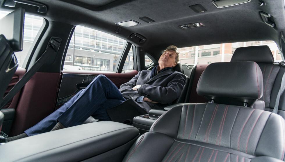 DIREKTØR: Administrerende direktør i Aller Media, Dag Sørsdal, testet Lexus LS 500h i 24 timer. Foto: Jamieson Pothecary