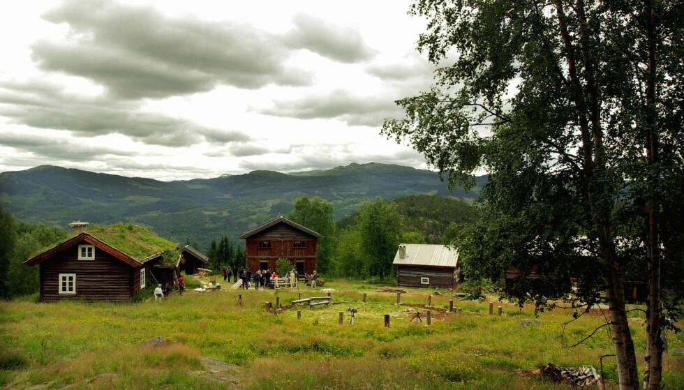 """FARMEN 2001: Realityserien """"Farmen"""" la sin første sesong til gården Rime i Flå. Foto: Heiko Junge / SCANPIX"""