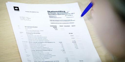 image: Husk å betale restskatt innen 20. august