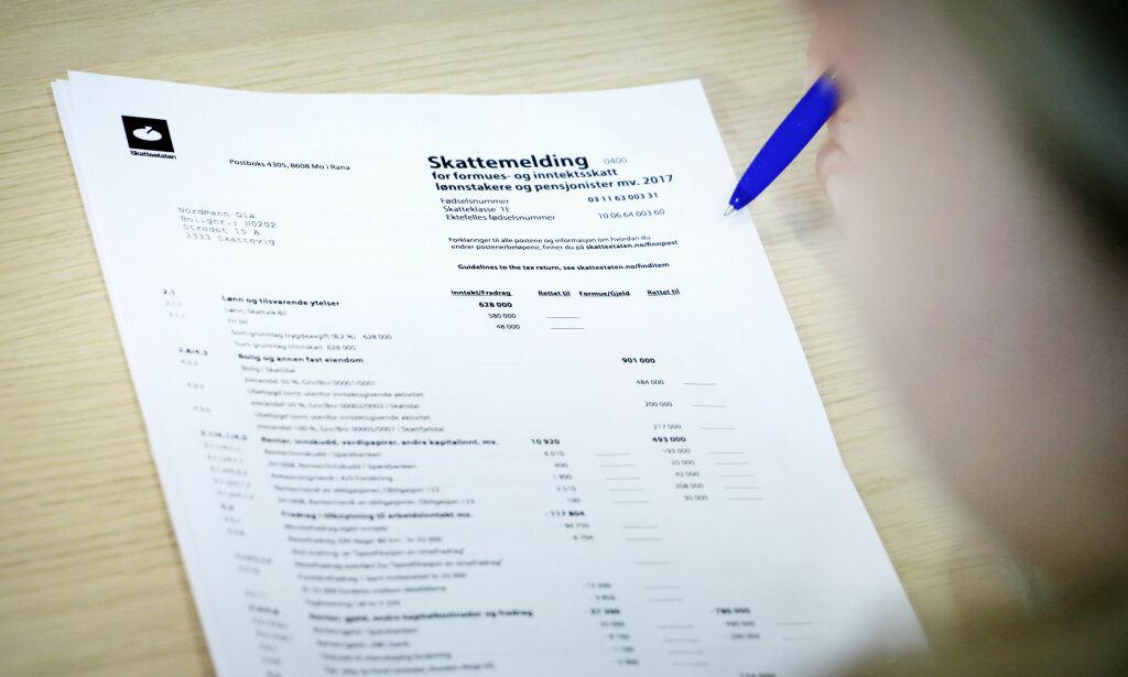 image: Fire steg til å sjekke skattemeldingen