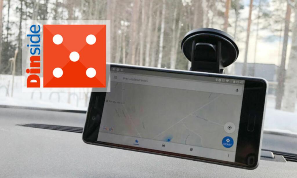 TEST AV MOBILHOLDERE TIL BIL: Se hvilken av de seks mobilholderne som er best i test. Foto: Bjørn Eirik Loftås