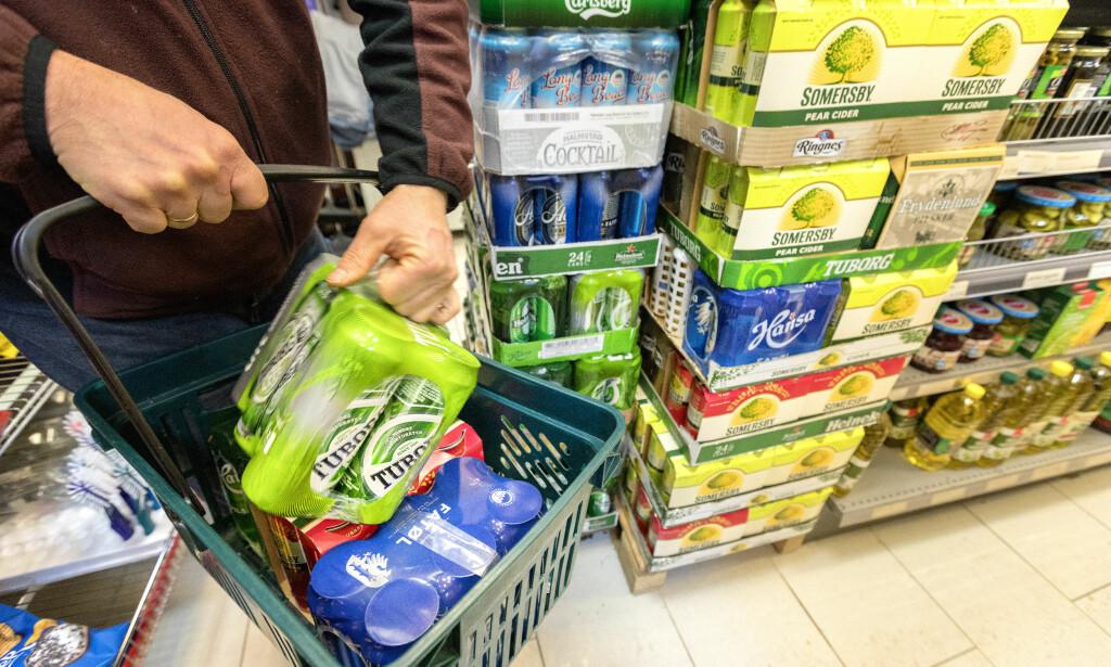 STREIK KAN GI VAREMANGEL: Tilgangen på en rekke mat- og drikkevarer kan bli dårligere dersom det blir storstreik i helga. Foto: NTB Scanpix