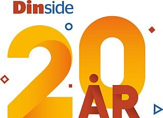 JUBILEUM: Dinside fyller 20 år, og vi ser tilbake på noen av høydepunktene.