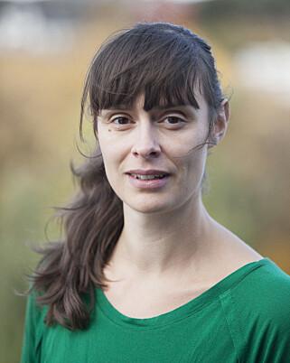 FLOMVAKT: Hydrolog Ingeborg Kleivane Krøgli følger kontinuerlig med på flomsituasjonen. Foto: NVE