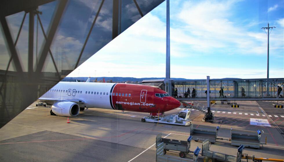 NORWEGIAN HAR AVTALE MED FLERE CHARTERSELSKAPER: Det er vanlig at ruteflyselskapene har avtaler med flere charterselskap, så også Norwegian. Foto: Norwegian
