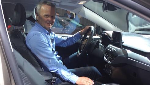 KRAFTIG RYDDET: Dette er bilen for alle som gir blaffen i elektrifisering, mener Rune Korsvoll. Foto: Rune Korsvoll