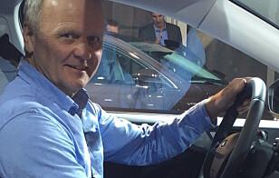 TROR ELBILER: Norges COTY-representant Rune Korsvoll tror Årets bil i Norge, elbilen Jaguar I-Pace, har gode muligheter i den europeiske konkurransen.