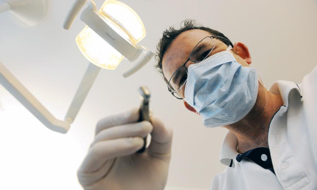 image: En av tre dropper tannlegen fordi de ikke har råd