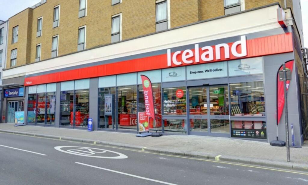 NY DAGLIGVAREKJEDE TIL NORGE: Den britiske frossenmatkjeden skal etablere to butikker i Norge innen sommeren. Ekspertene er ikke positive til at det blir en suksess. Foto: Iceland