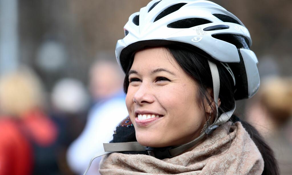 OSLO-STØTTE: Miljø- og samferdselsbyråd Lan Marie Nguyen Berg (MDG) har forsøkt seg med tidsbegrenset elsykkelstøtte. Foto: Håkon Mosvold Larsen/NTB scanpix