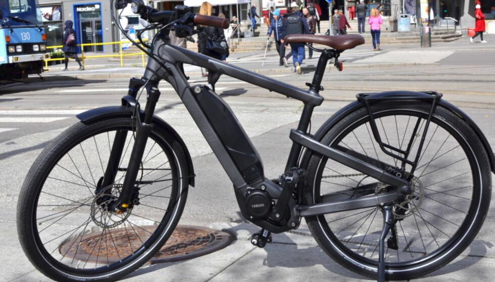 MILJØFAKTOR: Elsykkel i byen er bra både for trafikken og helsa, mener svenske politikere. Foto: Tore Neset