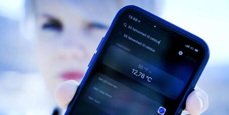 Slik regner du om lynraskt på mobilen