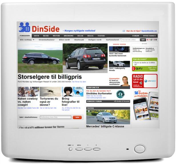 2010: «Du vil ikke tro det før du har prøvd» påstår vi om en fototjeneste, og reklamerer for at Dinside nå også fungerer på iPhone.