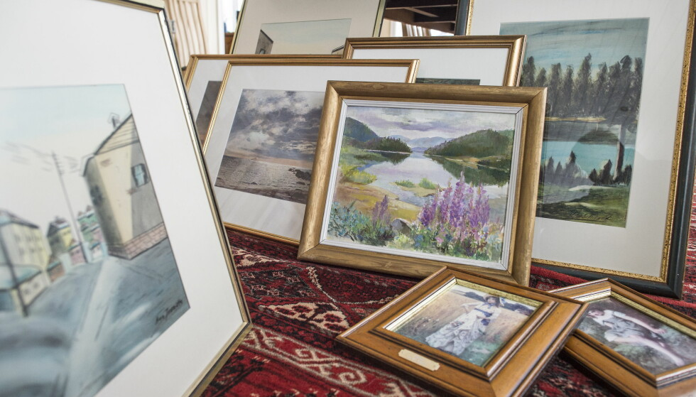 GULL ELLER SØPPEL? Mange gamle malerier har bare verdi for den som eier det. Men noen kan oppnå høy pris på markedet. Foto: Hans Arne Vedlog/Dagbladet