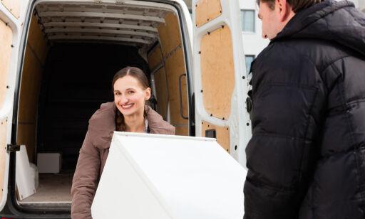 image: Slik frakter du kjøleskapet riktig