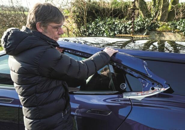 ERFAREN: Router har tidligere arbeidet med McLaren F1, Jaguar og Stealth før Tesla. Foto: Luc Lacey