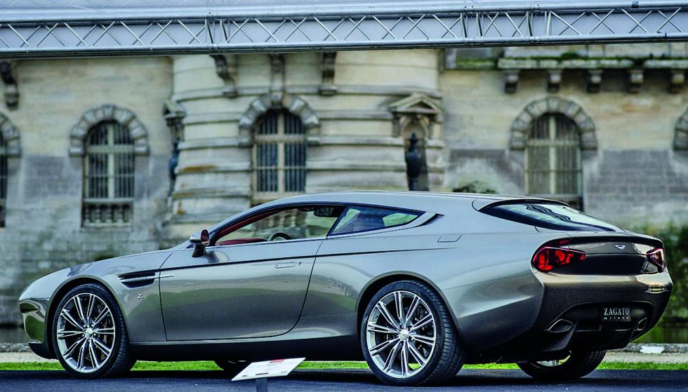 HAR VÆRT GJORT FØR: Det finnes mange eksempler på slike ombygginger fra tidligere. Her ser vi en Aston Martin Virage Shooting Brake designet av italienske Zagato Atelier. Foto: Zagato