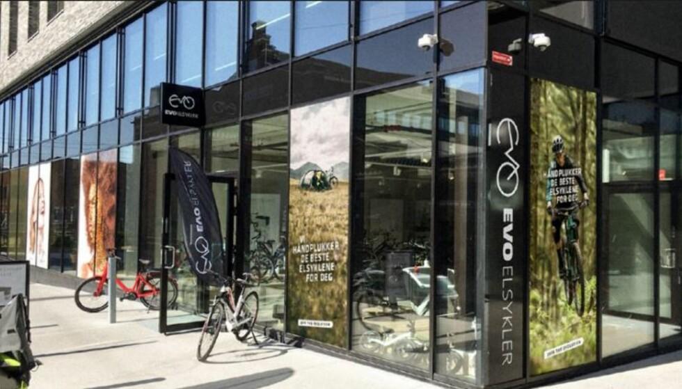 FØRST UTE: Spesialbutikken Evo Elsykler lanserte elsykkelforsikring allerede for ett og et halvt år siden. Foto: Evo Elsykler