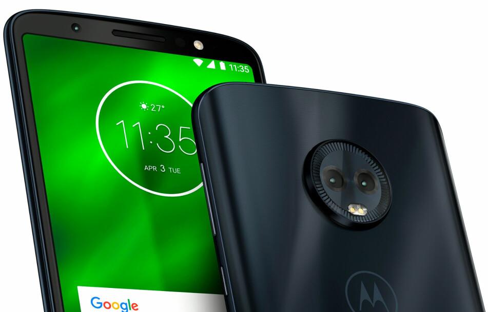 NY BUDSJETTVINNER? Motorola har gjort det sterkt med sin G-serie. Nå kommer det tre nye modeller. Foto: Motorola