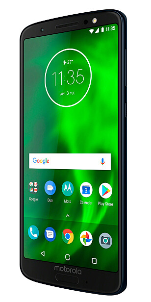 Moto G6. Foto: Motorola