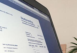 Her er alt du bør sjekke før levering av skattemeldingen