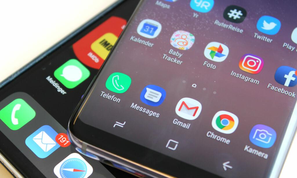 SMS-ETTERFØLGER: Google jobber med å få på plass en ny meldingsstandard i sin Messages-app på Android. Foto: Kirsti Østvang