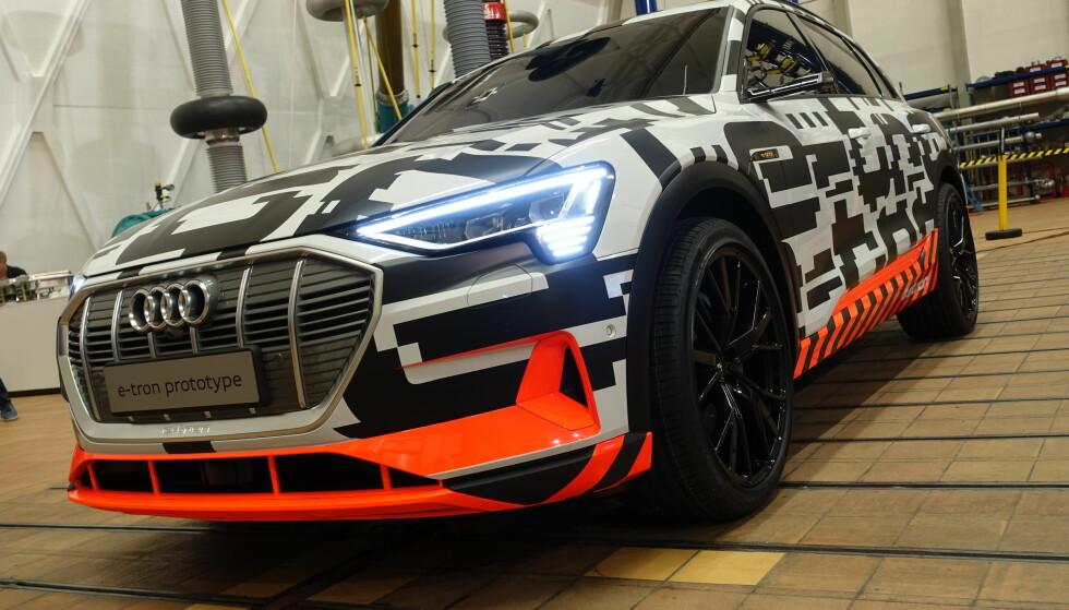KJENT ANSIKT: Du lurer ikke på om det er en Audi du møter. Foto: Fred Magne Skillebæk