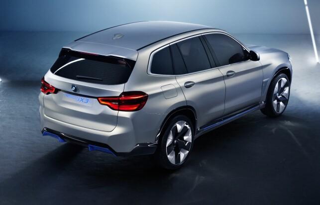 KONSEPT: Det er åpenbart ikke mye som gjenstår for å gjøre denne produksjonsklar. Foto: BMW