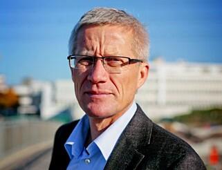 NYE TALL: Erik Andresen er direktør i Bilimportørenes Landsforening som etter lang tids utregninger har foreslått en ny skala for beregning av CO2-komponenten i engangsavgiften.