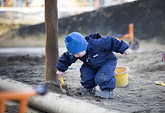 Har du barn i barnehage, på SFO eller hos dagmamma?