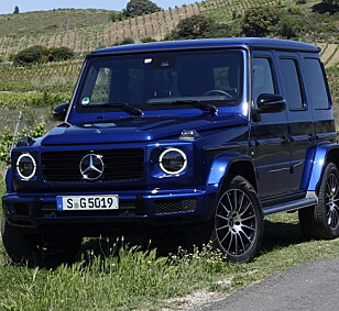STJERNESMELL: Vil du ha en Mercedes G500, bør du skynde deg. Den blir nemlig 138.428 kroner dyrere fra nyttår. Foto: Rune Nesheim