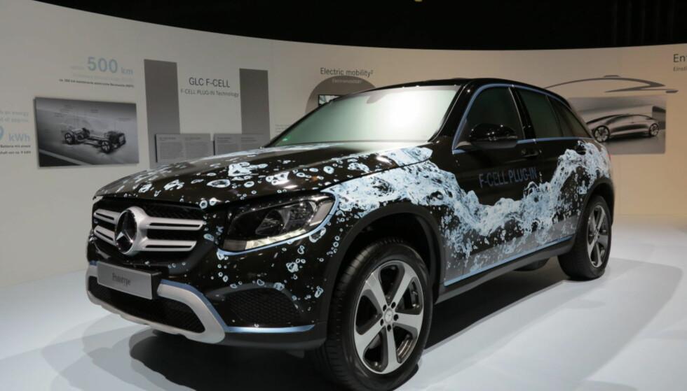 Konseptbilen: Slik så det ut da konseptbilen bla vist i 2016. Foto: Fred Magne Skillebæk
