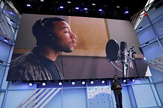 SEKS NYE STEMMER: Google Assistant har også fått seks nye stemmer, hvorav en av dem er John Legends. Foto: NTB Scanpix