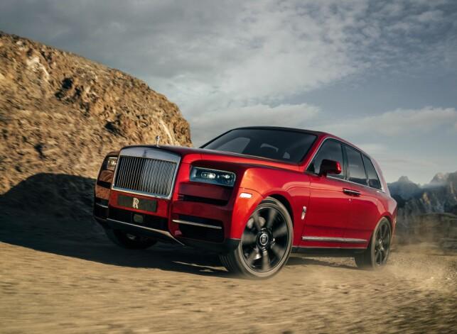 ROLLS AV VEIEN: Cullinan gir for første gang Rolls-kundene muligheten til å utforske uveisomme strøk. Mon tro hvor mange som kommer til å gjøre det... Foto: Rolls-Royce