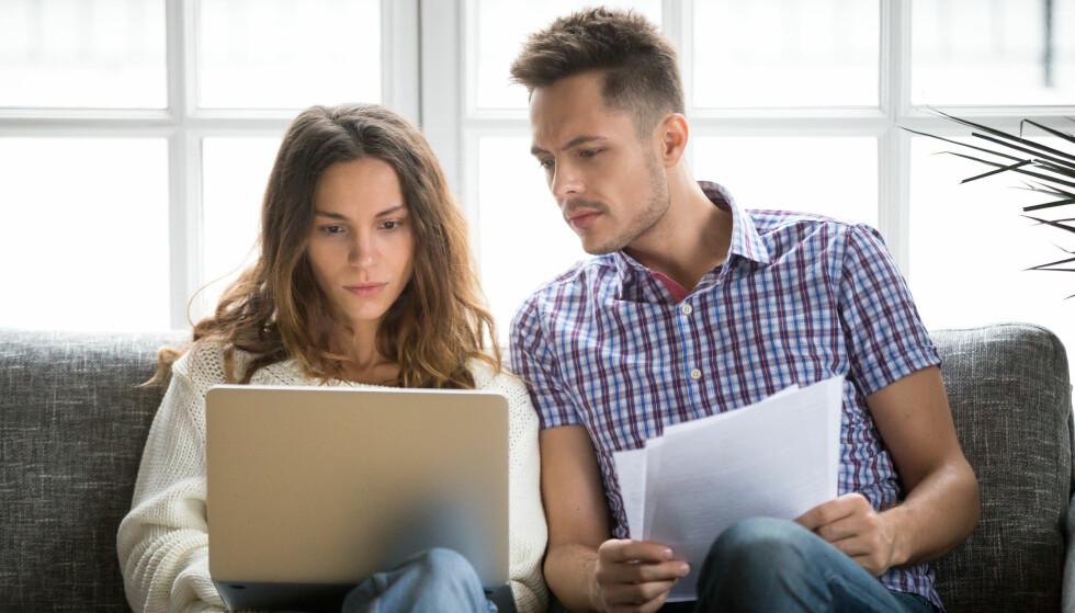 RENTEVALG: Om det lønner seg å binde renten eller bytte bank, er avhengig av de ulike lånene dine. Foto: Shutterstock/NTB Scanpix.