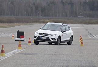 Sikkerhetsbeltet løser ut i Seat Arona, Ibiza og VW Polo