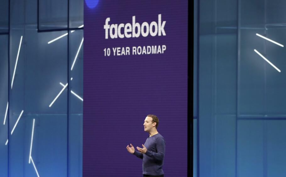 ETTERFORSKER APPER: Facebook har nå suspendert 200 apper for mistanke om datamisbruk. Foto: Marcio Jose Sanchez/AP Photo/NTB Scanpix)
