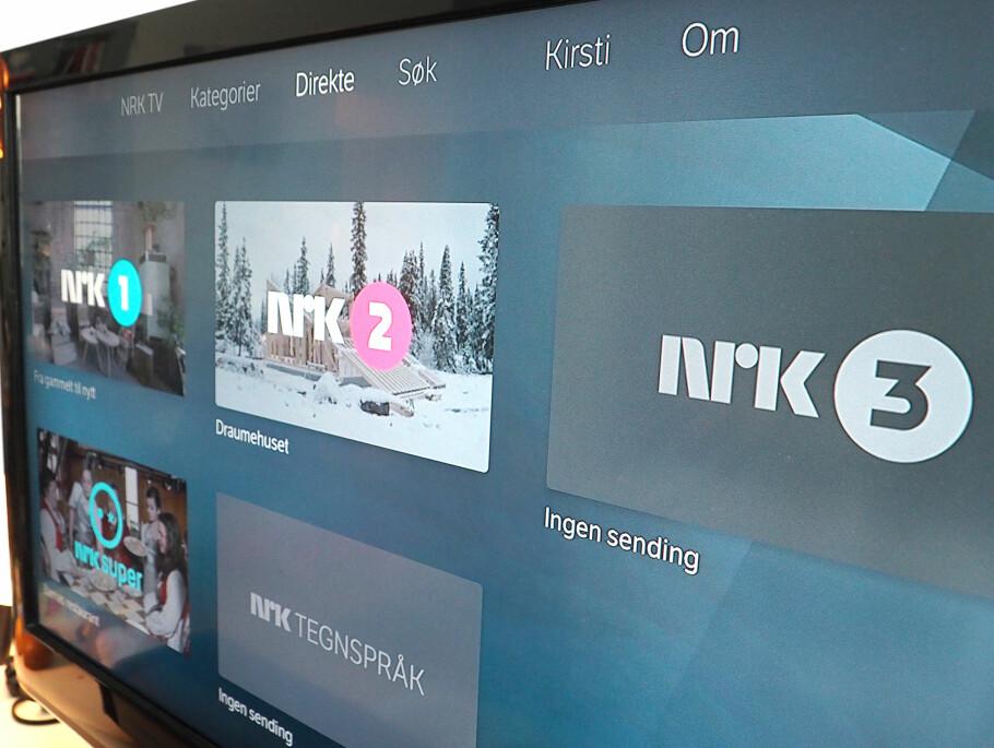 NRK PÅ NETT: Du kan se programmene som allerede ligger på nett-TV, under streiken. Foto: Kirsti Østvang