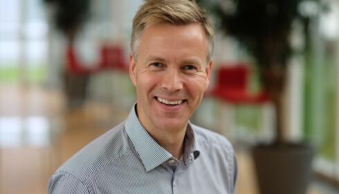 Jon Berge, informasjonsdirektør i If.